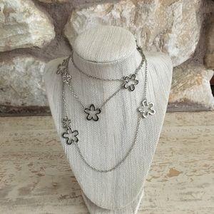 Lia Sophia long necklace.